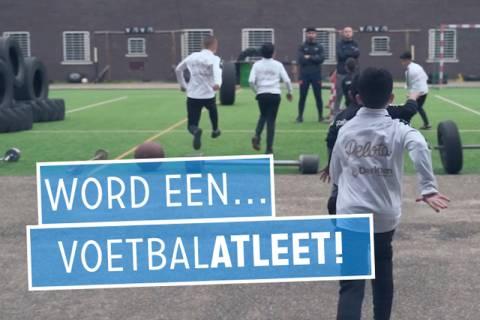 Word een voetbal-atleet (Scoor je Ticket!)